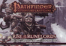 Spirit Games (Est. 1984) - Supplying role playing games (RPG), wargames rules, miniatures and scenery, new and traditional board and card games for the last 20 years sells Pathfinder Adventure Card Game: The Hook Mountain Massacre Adventure Deck