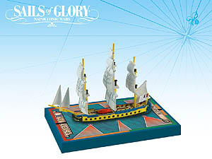 Spirit Games (Est. 1984) - Supplying role playing games (RPG), wargames rules, miniatures and scenery, new and traditional board and card games for the last 20 years sells Sails of Glory: Hermione 1779/L
