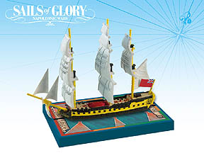 Spirit Games (Est. 1984) - Supplying role playing games (RPG), wargames rules, miniatures and scenery, new and traditional board and card games for the last 20 years sells Sails of Glory: HMS Impetueux 1796/HMS Spartiate 1798
