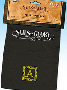 Spirit Games (Est. 1984) - Supplying role playing games (RPG), wargames rules, miniatures and scenery, new and traditional board and card games for the last 20 years sells Sails of Glory Damage Counter Bags