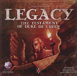 Spirit Games (Est. 1984) - Supplying role playing games (RPG), wargames rules, miniatures and scenery, new and traditional board and card games for the last 20 years sells Legacy: The Testament of Duke de Crecy