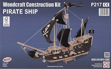 Spirit Games (Est. 1984) - Supplying role playing games (RPG), wargames rules, miniatures and scenery, new and traditional board and card games for the last 20 years sells Kit: Pirate Ship