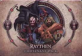 Spirit Games (Est. 1984) - Supplying role playing games (RPG), wargames rules, miniatures and scenery, new and traditional board and card games for the last 20 years sells Descent: Journeys in the Dark Second Edition - Raythen Lieutenant Pack