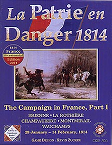 Spirit Games (Est. 1984) - Supplying role playing games (RPG), wargames rules, miniatures and scenery, new and traditional board and card games for the last 20 years sells La Patrie en Danger 1814<br>The Campaign in France, Part 1