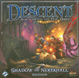 Spirit Games (Est. 1984) - Supplying role playing games (RPG), wargames rules, miniatures and scenery, new and traditional board and card games for the last 20 years sells Descent: Journeys in the Dark Second Edition Expansion - Shadow of Nerekhall