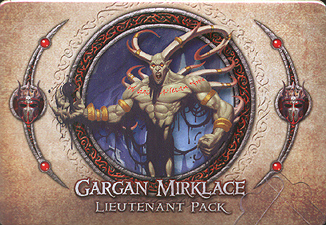 Spirit Games (Est. 1984) - Supplying role playing games (RPG), wargames rules, miniatures and scenery, new and traditional board and card games for the last 20 years sells Descent: Journeys in the Dark Second Edition - Gargan Mirklace Lieutenant Pack