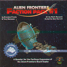 Spirit Games (Est. 1984) - Supplying role playing games (RPG), wargames rules, miniatures and scenery, new and traditional board and card games for the last 20 years sells Alien Frontiers: Faction Pack #1 2nd Edition