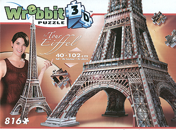 Spirit Games (Est. 1984) - Supplying role playing games (RPG), wargames rules, miniatures and scenery, new and traditional board and card games for the last 20 years sells Jigsaw: 3D Eiffel Tower 816pc