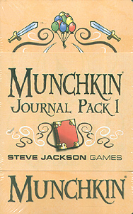 Spirit Games (Est. 1984) - Supplying role playing games (RPG), wargames rules, miniatures and scenery, new and traditional board and card games for the last 20 years sells Munchkin Journal Pack 1