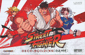 Spirit Games (Est. 1984) - Supplying role playing games (RPG), wargames rules, miniatures and scenery, new and traditional board and card games for the last 20 years sells Capcom Street Fighter Deck-Building Game (includes promo cards)