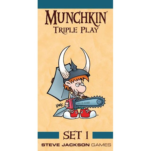 Spirit Games (Est. 1984) - Supplying role playing games (RPG), wargames rules, miniatures and scenery, new and traditional board and card games for the last 20 years sells Munchkin Triple Play Set 1