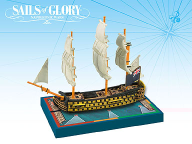 Spirit Games (Est. 1984) - Supplying role playing games (RPG), wargames rules, miniatures and scenery, new and traditional board and card games for the last 20 years sells Sails of Glory: HMS Royal Soverign 1786