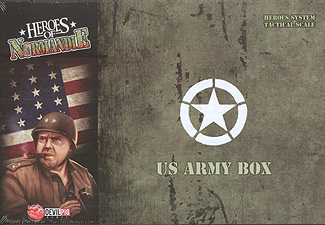 Spirit Games (Est. 1984) - Supplying role playing games (RPG), wargames rules, miniatures and scenery, new and traditional board and card games for the last 20 years sells Heroes of Normandie: US Army Box Second Printing