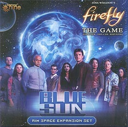 Spirit Games (Est. 1984) - Supplying role playing games (RPG), wargames rules, miniatures and scenery, new and traditional board and card games for the last 20 years sells Firefly: Blue Sun