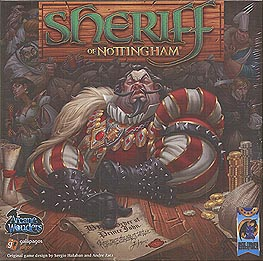 Spirit Games (Est. 1984) - Supplying role playing games (RPG), wargames rules, miniatures and scenery, new and traditional board and card games for the last 20 years sells Sheriff of Nottingham by