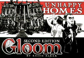 Spirit Games (Est. 1984) - Supplying role playing games (RPG), wargames rules, miniatures and scenery, new and traditional board and card games for the last 20 years sells Gloom 2nd Edition: Unhappy Homes