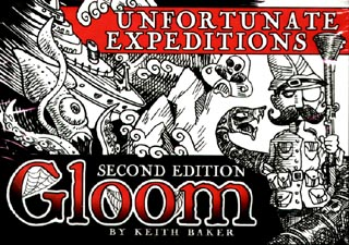 Spirit Games (Est. 1984) - Supplying role playing games (RPG), wargames rules, miniatures and scenery, new and traditional board and card games for the last 20 years sells Gloom 2nd Edition: Unfortunate Expeditions