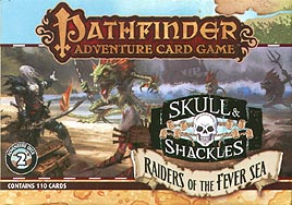 Spirit Games (Est. 1984) - Supplying role playing games (RPG), wargames rules, miniatures and scenery, new and traditional board and card games for the last 20 years sells Pathfinder Adventure Card Game: Skull and Shackles - Raiders of the Fever Sea