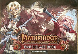 Spirit Games (Est. 1984) - Supplying role playing games (RPG), wargames rules, miniatures and scenery, new and traditional board and card games for the last 20 years sells Pathfinder Adventure Card Game: Bard Class Deck