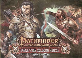 Spirit Games (Est. 1984) - Supplying role playing games (RPG), wargames rules, miniatures and scenery, new and traditional board and card games for the last 20 years sells Pathfinder Adventure Card Game: Fighter Class Deck
