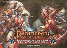 Spirit Games (Est. 1984) - Supplying role playing games (RPG), wargames rules, miniatures and scenery, new and traditional board and card games for the last 20 years sells Pathfinder Adventure Card Game: Sorcerer Class Deck