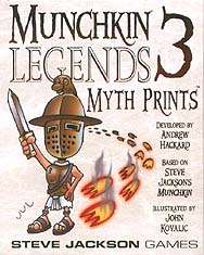 Spirit Games (Est. 1984) - Supplying role playing games (RPG), wargames rules, miniatures and scenery, new and traditional board and card games for the last 20 years sells Munchkin Legends 3 Myth Prints