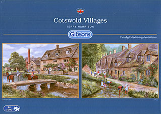 Spirit Games (Est. 1984) - Supplying role playing games (RPG), wargames rules, miniatures and scenery, new and traditional board and card games for the last 20 years sells Jigsaw: Cotswold Villages 1000pc