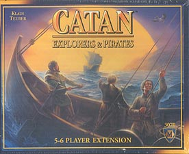 Spirit Games (Est. 1984) - Supplying role playing games (RPG), wargames rules, miniatures and scenery, new and traditional board and card games for the last 20 years sells Catan: Explorers and Pirates 5/6 Player Extension
