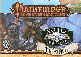 Spirit Games (Est. 1984) - Supplying role playing games (RPG), wargames rules, miniatures and scenery, new and traditional board and card games for the last 20 years sells Pathfinder Adventure Card Game: Skull and Shackles - Tempest Rising<br>