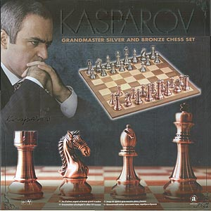 Spirit Games (Est. 1984) - Supplying role playing games (RPG), wargames rules, miniatures and scenery, new and traditional board and card games for the last 20 years sells Kasparov Grandmaster Chess Set
