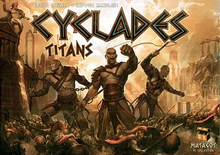 Spirit Games (Est. 1984) - Supplying role playing games (RPG), wargames rules, miniatures and scenery, new and traditional board and card games for the last 20 years sells Cyclades: Titans