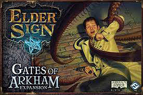 Spirit Games (Est. 1984) - Supplying role playing games (RPG), wargames rules, miniatures and scenery, new and traditional board and card games for the last 20 years sells Elder Sign: Gates of Arkham Expansion