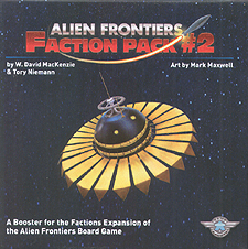 Spirit Games (Est. 1984) - Supplying role playing games (RPG), wargames rules, miniatures and scenery, new and traditional board and card games for the last 20 years sells Alien Frontiers: Faction Pack #2