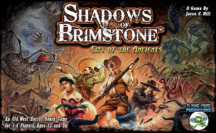 Spirit Games (Est. 1984) - Supplying role playing games (RPG), wargames rules, miniatures and scenery, new and traditional board and card games for the last 20 years sells Shadows of Brimstone: City of the Ancients