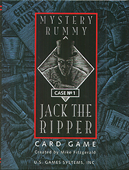 Spirit Games (Est. 1984) - Supplying role playing games (RPG), wargames rules, miniatures and scenery, new and traditional board and card games for the last 20 years sells Mystery Rummy: No 1: Jack the Ripper