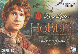 Spirit Games (Est. 1984) - Supplying role playing games (RPG), wargames rules, miniatures and scenery, new and traditional board and card games for the last 20 years sells Love Letter: The Hobbit Boxed Edition