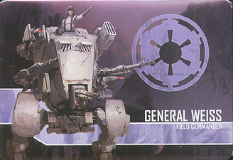 Spirit Games (Est. 1984) - Supplying role playing games (RPG), wargames rules, miniatures and scenery, new and traditional board and card games for the last 20 years sells Star Wars: Imperial Assault - General Weiss Villain Pack