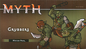 Spirit Games (Est. 1984) - Supplying role playing games (RPG), wargames rules, miniatures and scenery, new and traditional board and card games for the last 20 years sells Myth: Grubbers Minion Pack