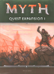 Spirit Games (Est. 1984) - Supplying role playing games (RPG), wargames rules, miniatures and scenery, new and traditional board and card games for the last 20 years sells Myth: Quest Expansion 1