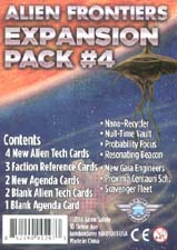 Spirit Games (Est. 1984) - Supplying role playing games (RPG), wargames rules, miniatures and scenery, new and traditional board and card games for the last 20 years sells Alien Frontiers: Expansion Pack #4