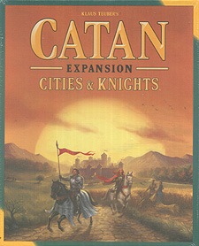 Spirit Games (Est. 1984) - Supplying role playing games (RPG), wargames rules, miniatures and scenery, new and traditional board and card games for the last 20 years sells Catan Expansion Cities and Knights 2015 Refresh