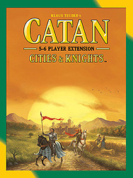 Spirit Games (Est. 1984) - Supplying role playing games (RPG), wargames rules, miniatures and scenery, new and traditional board and card games for the last 20 years sells Catan Expansion 5-6 Player Cities and Knights 2015 Refresh