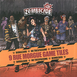 Spirit Games (Est. 1984) - Supplying role playing games (RPG), wargames rules, miniatures and scenery, new and traditional board and card games for the last 20 years sells Zombicide: Rue Morgue Game Tiles