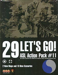 Spirit Games (Est. 1984) - Supplying role playing games (RPG), wargames rules, miniatures and scenery, new and traditional board and card games for the last 20 years sells ASL: Action Pack 11 29 Let
