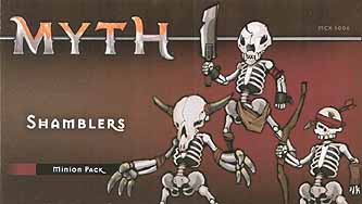 Spirit Games (Est. 1984) - Supplying role playing games (RPG), wargames rules, miniatures and scenery, new and traditional board and card games for the last 20 years sells Myth: Shamblers Minion Pack