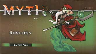 Spirit Games (Est. 1984) - Supplying role playing games (RPG), wargames rules, miniatures and scenery, new and traditional board and card games for the last 20 years sells Myth: Soulless Captain Pack