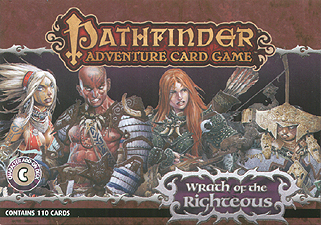 Spirit Games (Est. 1984) - Supplying role playing games (RPG), wargames rules, miniatures and scenery, new and traditional board and card games for the last 20 years sells Pathfinder Adventure Card Game: Wrath of the Righteous - Character Add-On Deck
