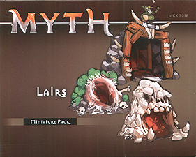 Spirit Games (Est. 1984) - Supplying role playing games (RPG), wargames rules, miniatures and scenery, new and traditional board and card games for the last 20 years sells Myth: Lairs Miniature Pack