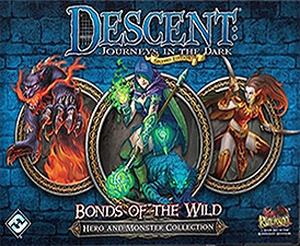 Spirit Games (Est. 1984) - Supplying role playing games (RPG), wargames rules, miniatures and scenery, new and traditional board and card games for the last 20 years sells Descent: Journeys in the Dark Second Edition - Bonds of the Wild Hero and Monster Collection