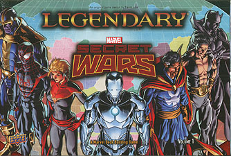 Spirit Games (Est. 1984) - Supplying role playing games (RPG), wargames rules, miniatures and scenery, new and traditional board and card games for the last 20 years sells Legendary Marvel: Secret Wars Volume 1